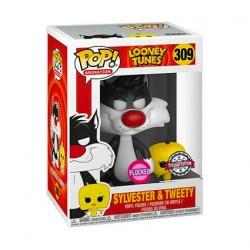 Figurine Pop Floqué Looney Tunes Titi et Grosminet Edition Limitée Funko Boutique Geneve Suisse