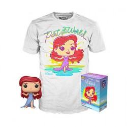 Figurine Pop Diamond et T-shirt Disney La Petite Sirène Edition Limitée Funko Boutique Geneve Suisse