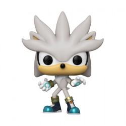 Figurine Pop Sonic the Hedgehog 30th Silver Funko Boutique Geneve Suisse
