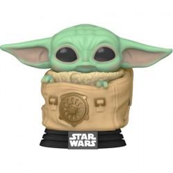 Figurine Pop Star Wars The Mandalorian Child in Bag Funko Boutique Geneve Suisse