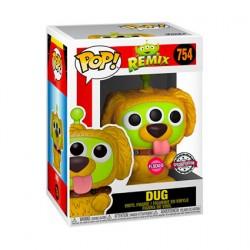 Figurine Pop Floqué Pixar Alien Remix Dug Edition Limitée Funko Boutique Geneve Suisse