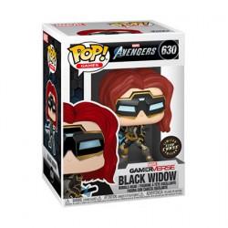 Figuren Pop Phosphoreszierend Marvel's Avengers (2020) Black Widow Chase Limitierte Auflage Funko Genf Shop Schweiz