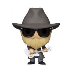 Figuren Pop Beflockt ZZ Top Dusty Hill Funko Genf Shop Schweiz