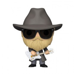 Figurine Pop Floqué ZZ Top Dusty Hill Funko Boutique Geneve Suisse