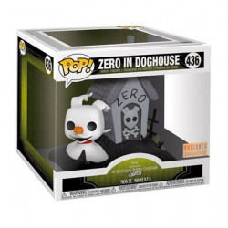 Figur Pop 15 cm The Nightmare Before Christmas Zero in doghouse Limited Edition Funko Geneva Store Switzerland