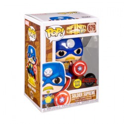 Figur Pop Glow in the Dark Infinity Warps Soldier Supreme Limited Edition Funko Geneva Store Switzerland