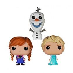 Figurine Pop Pocket Tins Disney La Reine des Neiges Anna, Olaf et Elsa (3 pcs) Edition Limitée Funko Boutique Geneve Suisse
