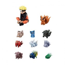 Figurine Naruto pack 11 figurines Naruto & Bijuu 3 - 7 cm MegaHouse Boutique Geneve Suisse