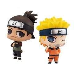 Figurine Naruto Chimimega Buddy Series Umino Iruka & Uzumaki Naruto Set MegaHouse Boutique Geneve Suisse