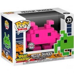 Figuren Pop Space Invaders Medium Invader Pink 8-Bit Limitierte Auflage Funko Genf Shop Schweiz