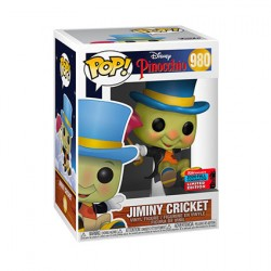 Figur Pop NYCC 2020 Disney Pinocchio Jiminy Cricket Limited Edition Funko Geneva Store Switzerland