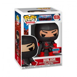 Figur Pop NYCC 2020 Masters of the Universe Ninjor Limited Edition Funko Geneva Store Switzerland