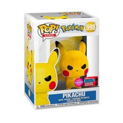 Figuren Pop NYCC 2020 Flockierte Pokemon Pikachu Grumpy Limitierte Auflage Funko Genf Shop Schweiz
