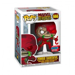 Figur Pop NYCC 2020 Marvel Zombies Daredevil Limited Edition Funko Geneva Store Switzerland