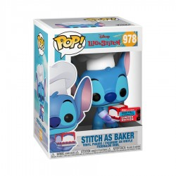 Figur Pop NYCC 2020 Disney Lilo & Stitch Stitch as Baker Limited Edition Funko Geneva Store Switzerland