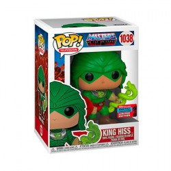 Figurine Pop NYCC 2020 Masters of the Universe King Hiss Edition Limitée Funko Boutique Geneve Suisse