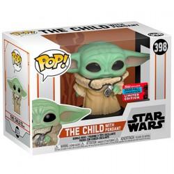 Figuren Pop NYCC 2020 Star Wars The Mandalorian The Child mit Pendant (Baby Yoda) Limitierte Auflage Funko Genf Shop Schweiz