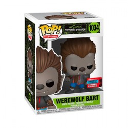 Figur Pop NYCC 2020 The Simpsons Bart Werewolf Limited Edition Funko Geneva Store Switzerland