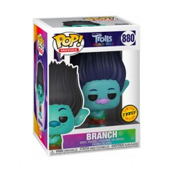 Figurine Pop Trolls World Tour Branch Chase Edition Limitée Funko Boutique Geneve Suisse