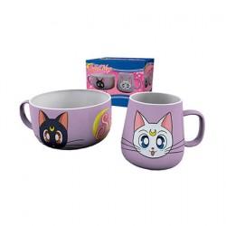 Figur Sailor Moon Breakfast Set Luna & Artemis GB eye Geneva Store Switzerland