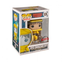Figur Pop Stranger Things Joyce in Bio Hazard Suit Limited Edition Funko Geneva Store Switzerland