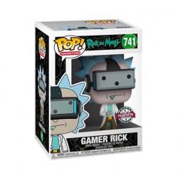 Figurine Pop Rick et Morty Gamer Rick Edition Limitée Funko Boutique Geneve Suisse