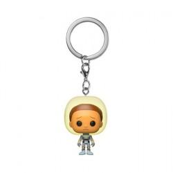 Figurine Pop Pocket Porte clés Rick and Morty Space Suit Morty Funko Boutique Geneve Suisse