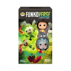 Figur Pop Funkoverse Rick and Morty Board Game 2 Character Expandalone French Version Funko Geneva Store Switzerland