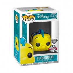 Figurine Pop Disney The Little Mermaid Flounder Diamond Glitter Edition Limitée Funko Boutique Geneve Suisse