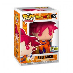 Figurine Pop SDCC 2020 Animation DBZ Super Saiyan God Goku Edition Limitée Funko Boutique Geneve Suisse