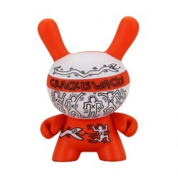 Figurine Duuny Crack is Wack par Keith Haring Kidrobot Boutique Geneve Suisse
