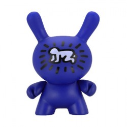Figur Duuny Blue Crawling Child by Keith Haring Kidrobot Geneva Store Switzerland
