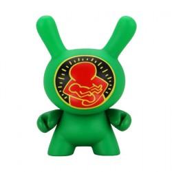 Figur Duuny Green Mother & Child by Keith Haring Kidrobot Geneva Store Switzerland