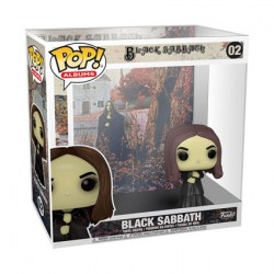 Figurine Pop Rocks Black Sabbath Album avec Boîte de Protection Acrylique Funko Boutique Geneve Suisse
