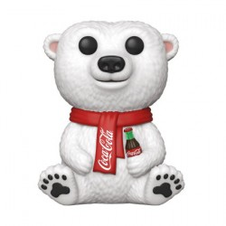 Figur Pop Coca-Cola Polar Bear Funko Geneva Store Switzerland