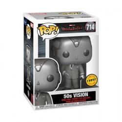 Pop Wandavision 50's Vision Black & White