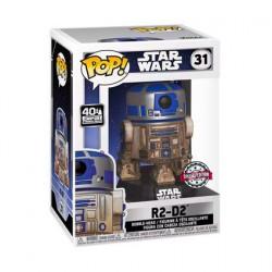 Figur Pop Star Wars R2-D2 Dagobah Limited Edition Funko Geneva Store Switzerland