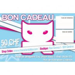 Figurine Bon Cadeau 50 CHF CharacterStation Boutique Geneve Suisse