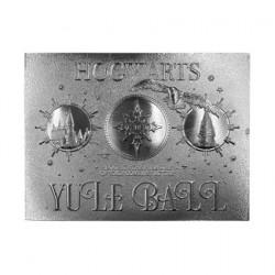Figurine Harry Potter réplique Yule Ball Ticket (plaqué argent) Edition Limitée FaNaTtiK Boutique Geneve Suisse