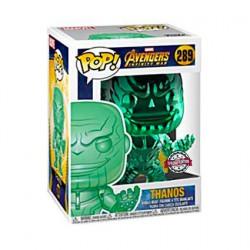 Figurine Pop Avengers Infinity War Thanos Green Chrome Edition Limitée Funko Boutique Geneve Suisse