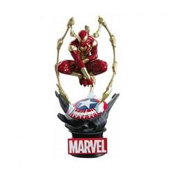 Figuren Marvel Diorama D-Stage Iron Spider-Man Beast Kingdom Genf Shop Schweiz