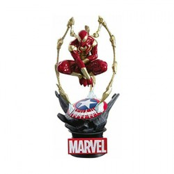 Figurine Marvel Diorama D-Stage Iron Spider-Man Beast Kingdom Boutique Geneve Suisse