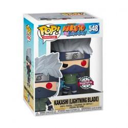 Figurine Pop Naruto Shipuden Kakashi avec Lightning Blade Edition Limitée Funko Boutique Geneve Suisse