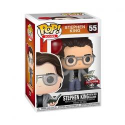 Figurine Pop Stephen King avec Ballon Rouge Edition Limitée Funko Boutique Geneve Suisse