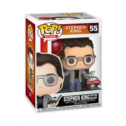 Figurine Pop Stephen King with Red Balloon Edition Limitée Funko Boutique Geneve Suisse