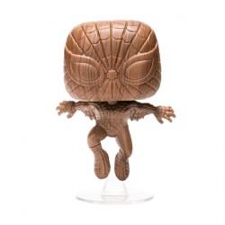 Figurine Pop Spider-Man Wood Deco Edition Limitée Funko Boutique Geneve Suisse