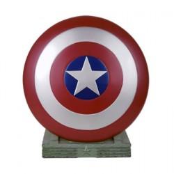 Figur Marvel Coin Bank Captain America Shield 25 cm Semic Geneva Store Switzerland