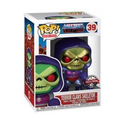Figuren Pop Metalisch Masters of the Universe Skeletor with Terror Claws Limitierte Auflage Funko Genf Shop Schweiz