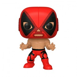 Figurine Pop Marvel Luchadore Deadpool El Chimichanga de la Muerte Funko Boutique Geneve Suisse