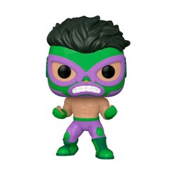 Figurine Pop Marvel Luchadore Hulk El Furioso Funko Boutique Geneve Suisse